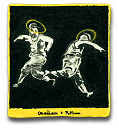 Label for Omadhuan Poltroon 1 Sine Qua None Wines