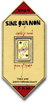 Queen of Spades - Sine Qua Non Wines