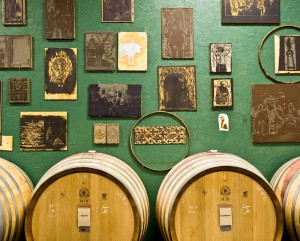wine-barrels-wall
