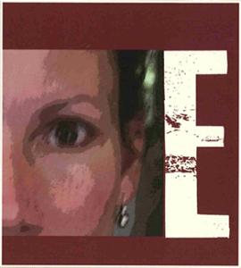 E - 2015 Wine label
